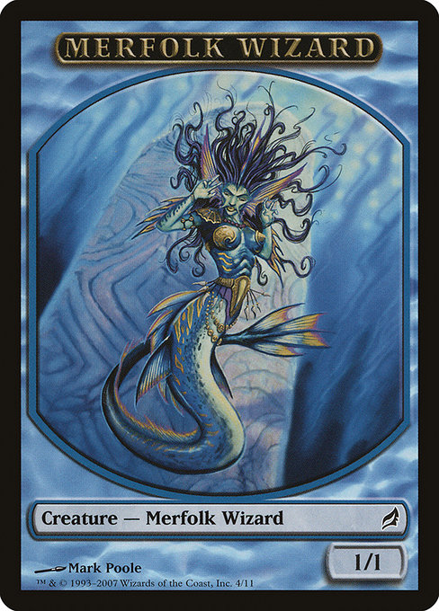 Merfolk Wizard (TLRW)