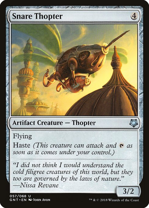 Snare Thopter (GNT)