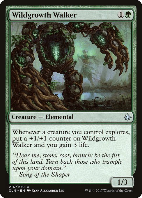 Wildgrowth Walker - Magic: the Gathering