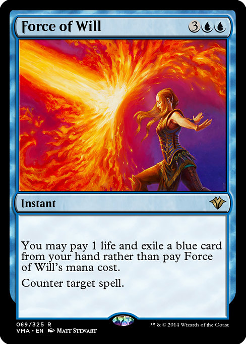 Force of Will (VMA)
