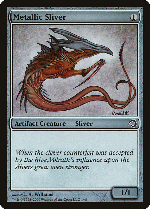 Metallic Sliver (H09)