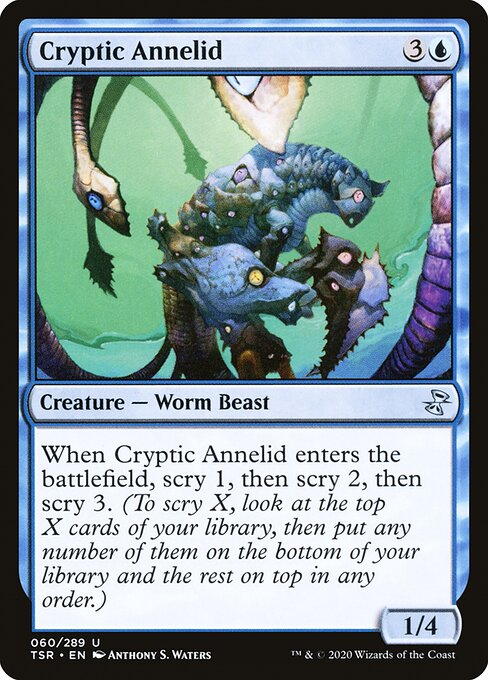 Cryptic Annelid (TSR)