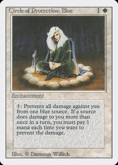 Circle of Protection: Blue (3ED)