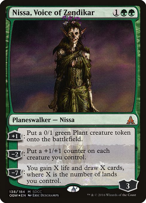 Nissa, Voice of Zendikar (PS16)
