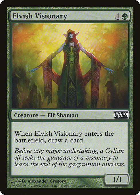Elvish Visionary (M10)
