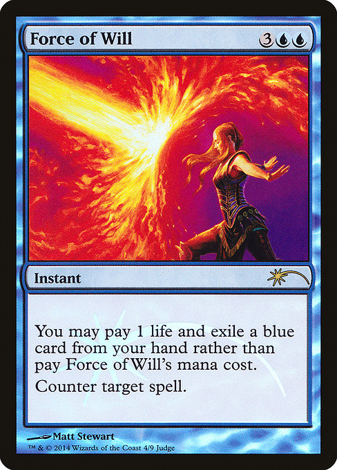 Force of Will - Judge Gift Cards 2014