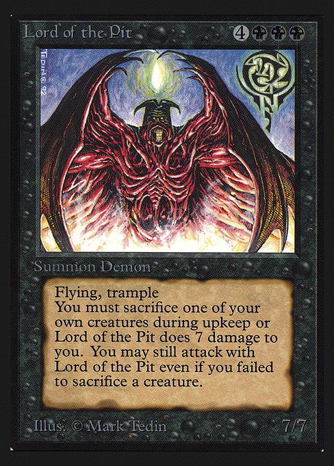 Lord of the Pit (CEI)