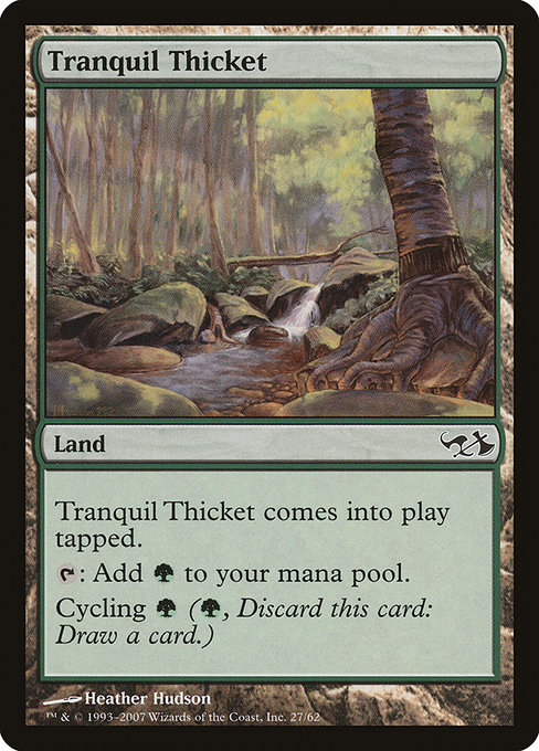 Tranquil Thicket (DD1)