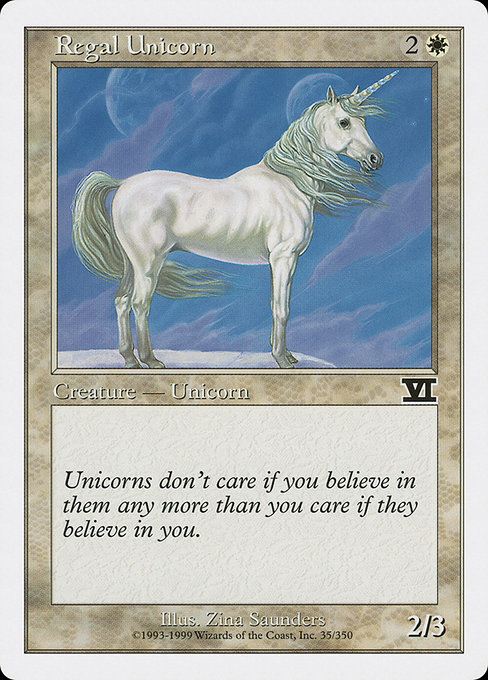 Regal Unicorn (6ED)
