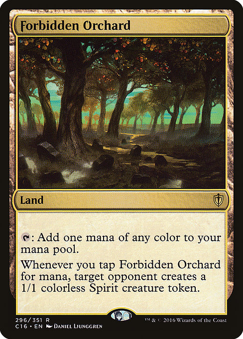 Forbidden Orchard (C16)
