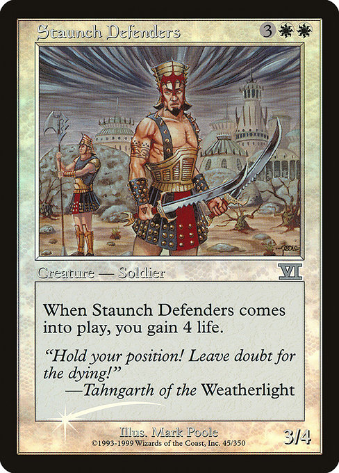 Staunch Defenders (FNM)