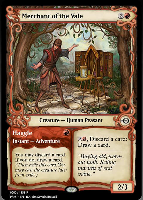 Merchant of the Vale // Haggle (PRM)