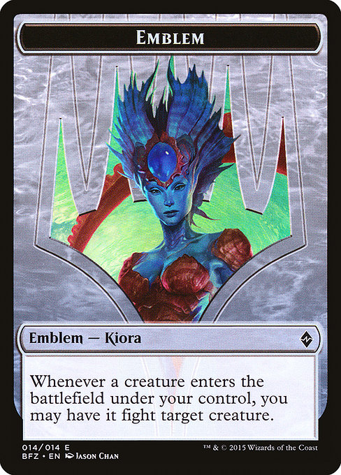 Kiora, Master of the Depths Emblem (TBFZ)