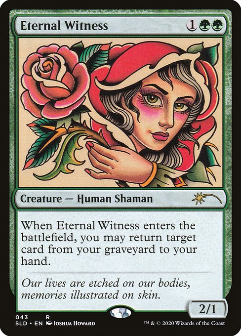Eternal Witness (SLD)