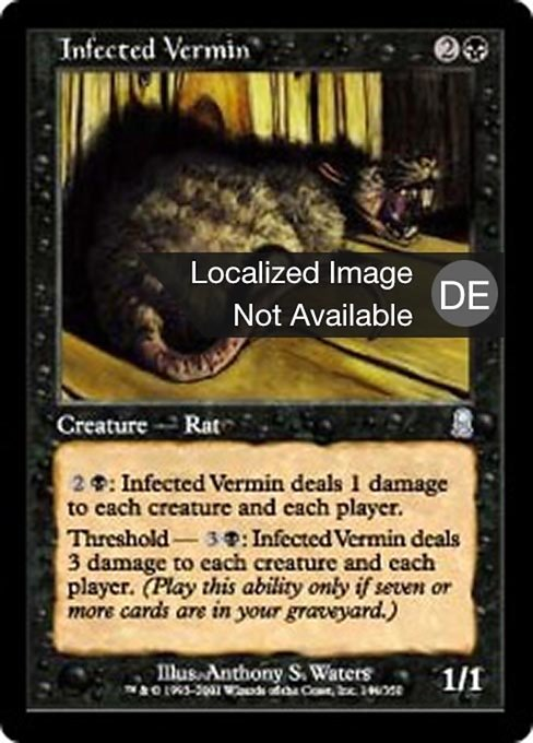 Infected Vermin (ODY)