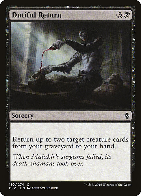 Dutiful Return (BFZ)