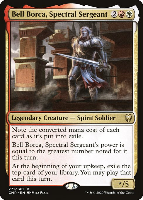Bell Borca, Spectral Sergeant (CMR)