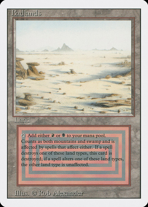 Badlands - Buy MTG cards