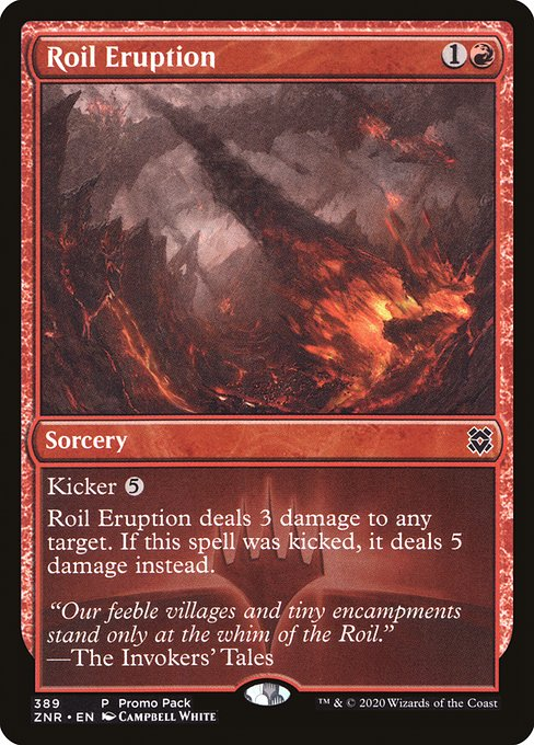Roil Eruption (ZNR)