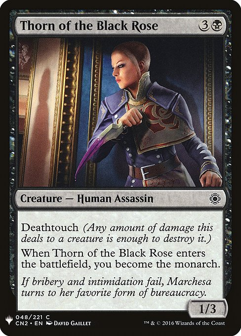 Thorn of the Black Rose (MB1)