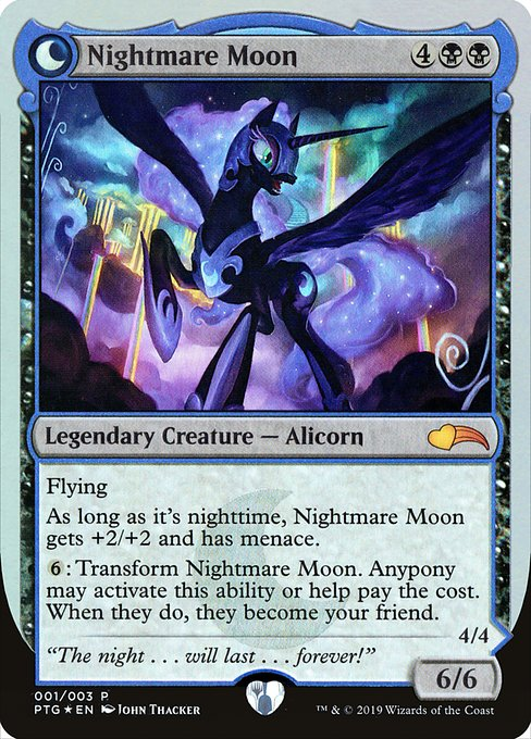Nightmare Moon // Princess Luna (PTG)
