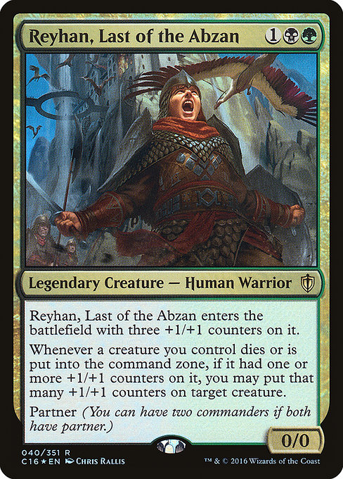 Reyhan, Last of the Abzan (C16)