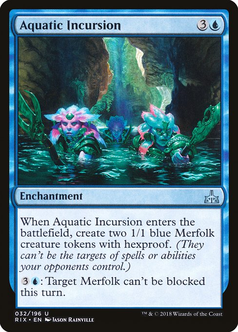 Aquatic Incursion (RIX)