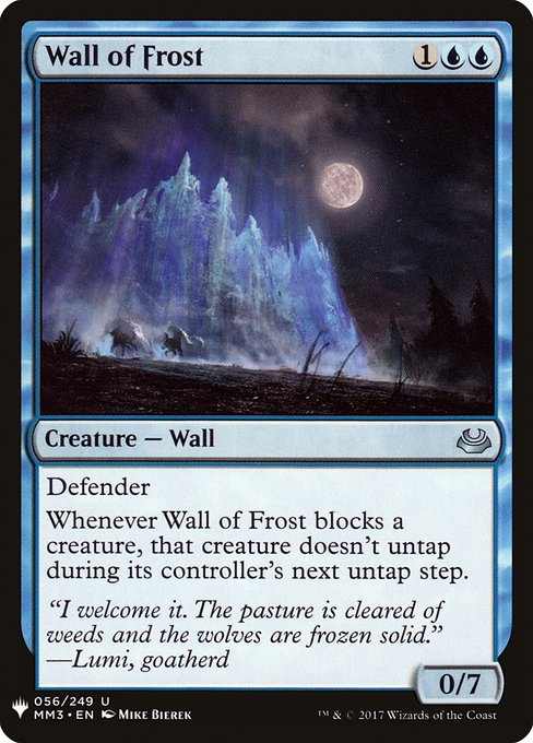 Wall of Frost (MB1)