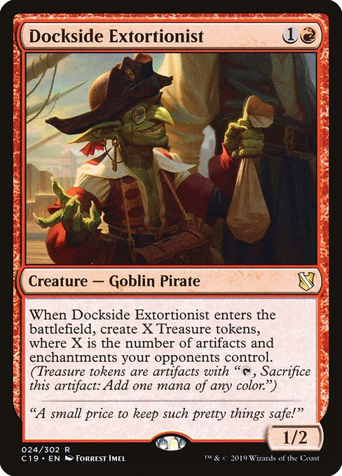 Dockside Extortionist (C19)