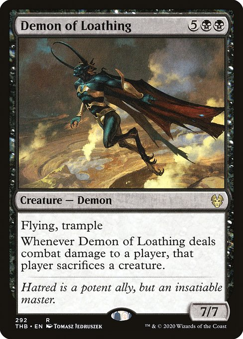 Demon of Loathing (THB)