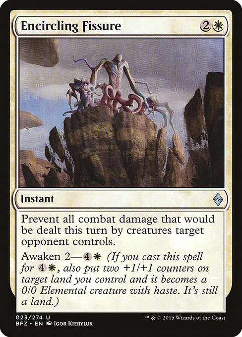Encircling Fissure (BFZ)