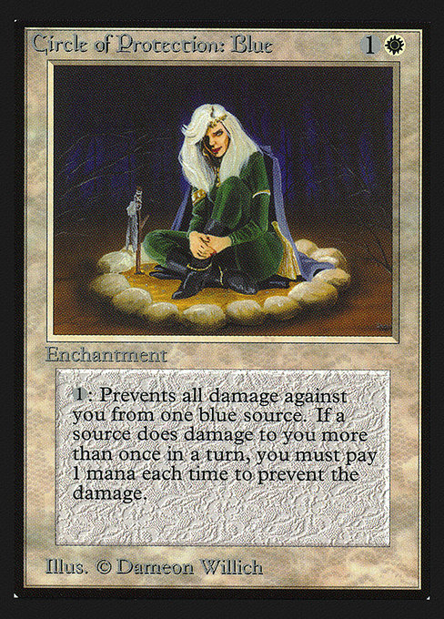 Circle of Protection: Blue (CED)