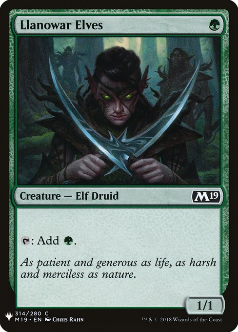Llanowar Elves (MB1)