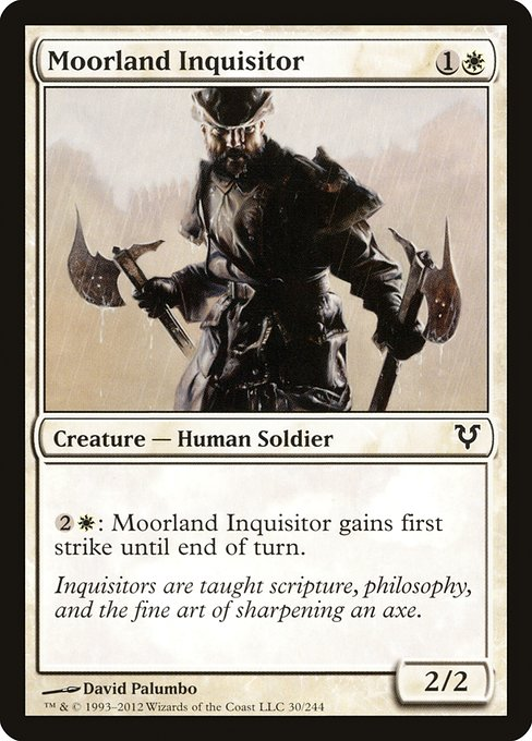 Moorland Inquisitor (AVR)