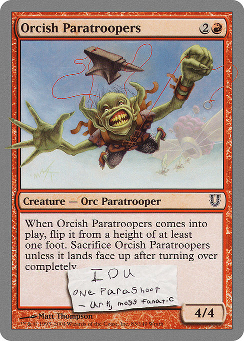 Orcish Paratroopers (UNH)