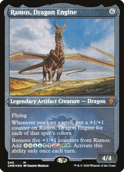 Ramos, Dragon Engine (CMR)