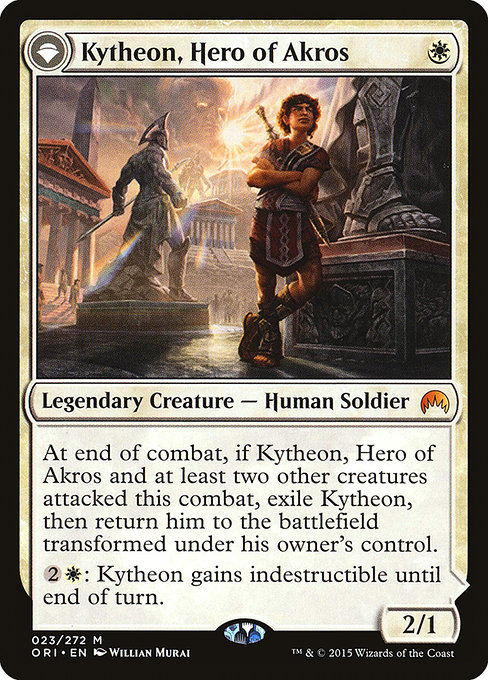 Kytheon, Hero of Akros // Gideon, Battle-Forged (ORI)