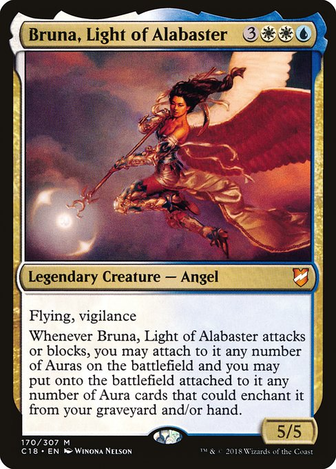 Bruna, Light of Alabaster (C18)