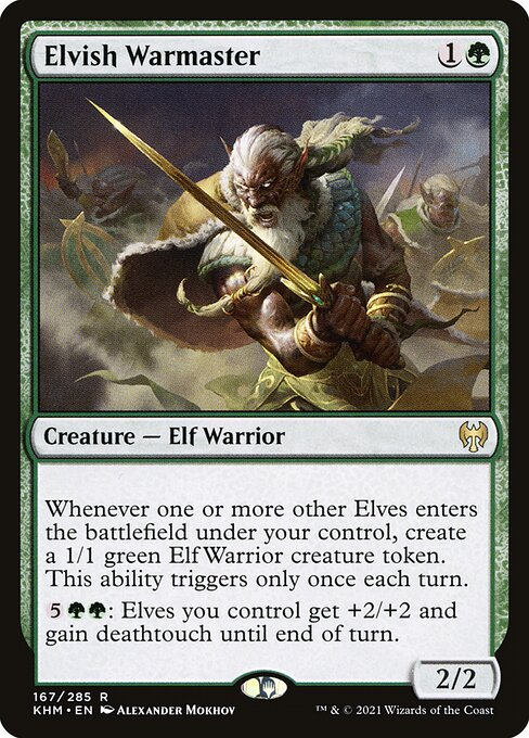 Elvish Warmaster (KHM)