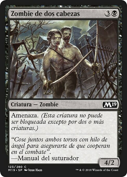 Two-Headed Zombie (M19)
