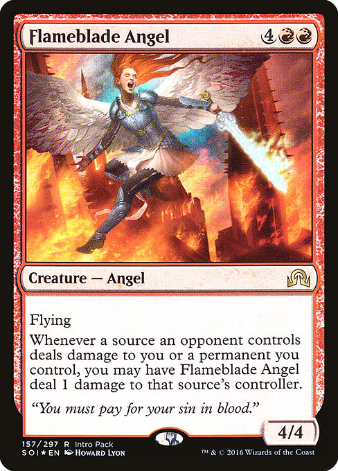 Flameblade Angel (PSOI)