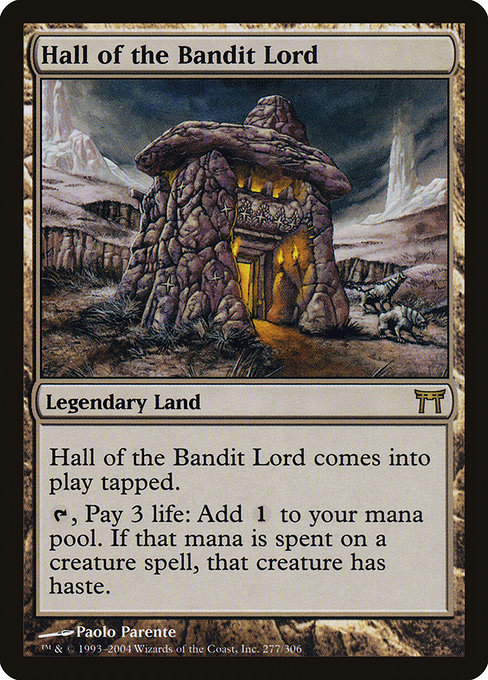 Hall of the Bandit Lord (CHK)