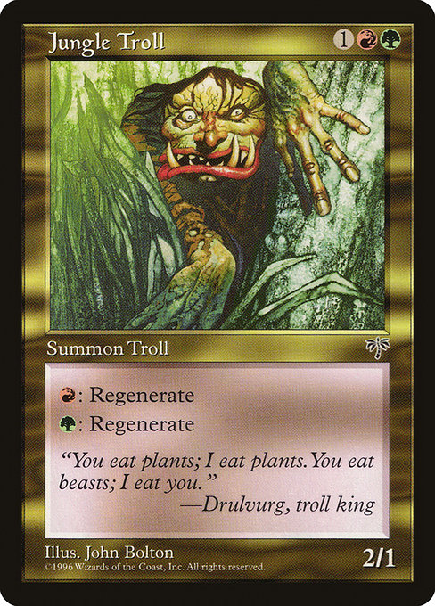 Jungle Troll (MIR)
