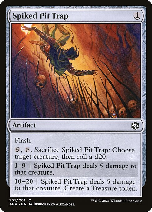 Spiked Pit Trap (AFR)