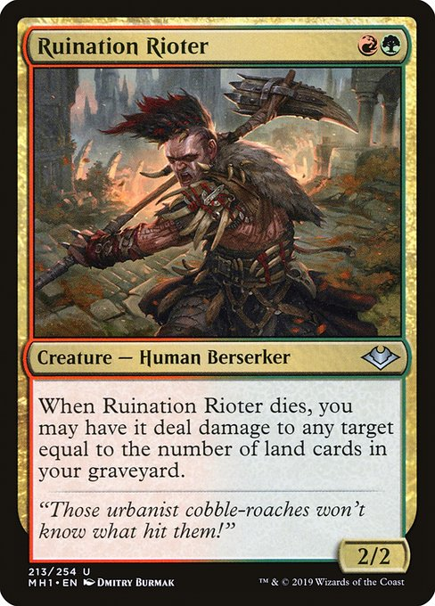 Ruination Rioter (MH1)