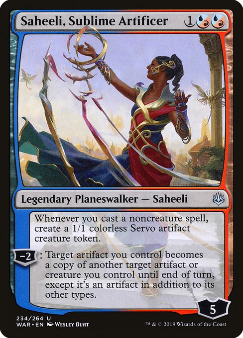 Saheeli, Sublime Artificer (WAR)