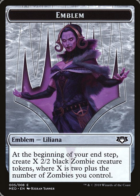 Liliana, the Last Hope Emblem (TMED)