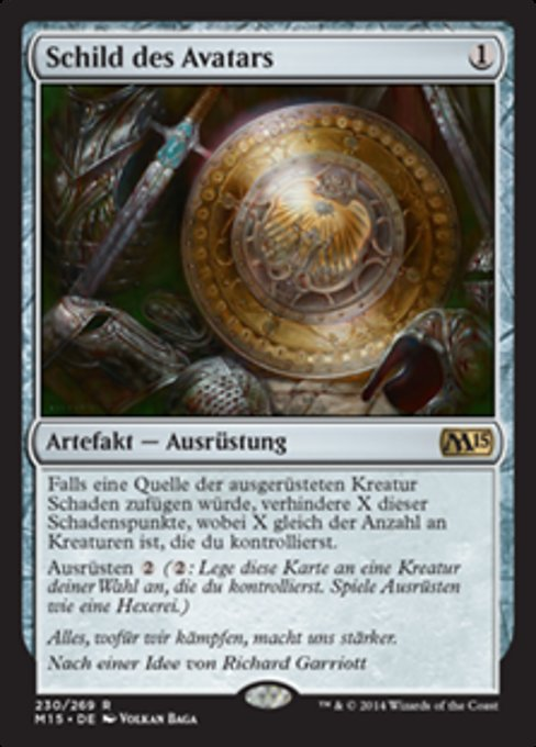 Shield of the Avatar (M15)