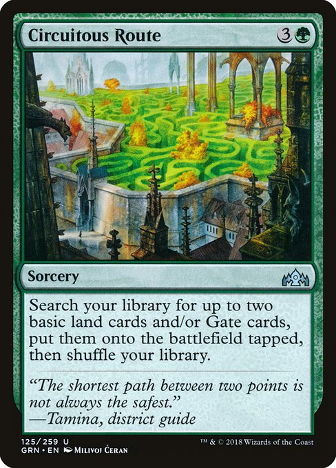 Circuitous Route - Magic: the Gathering