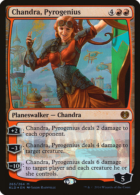 Chandra, Pyrogenius (KLD)